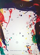 Sam Francis Poster: National Collection of Fine Arts: Opening May 1968