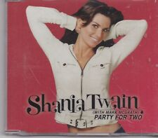 Shania Twain-Party For Two cd maxi single 2 tracks