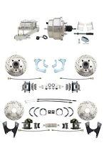 1965-68 GM Fullsize All Wheel Disc Brake Conversion Kit w/ Chrome Booster Kit