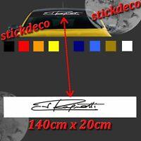 BANDE PARE SOLEIL RENAULT CLIO MEGANE R.S. RS CUP 200 280 RENAULT SPORT 140X20CM