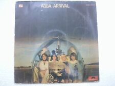 ABBA ARRIVAL RARE LP record orig stereo polydor INDIA INDIAN pressing ex