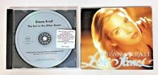 LOT Of 2 Dianna Krall CDs: Love Scenes (trifold) & Girl In The Other Room Promo