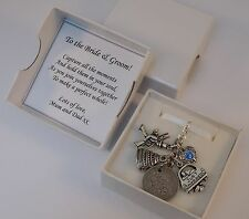 LUCKY SIXPENCE, WEDDING, BRIDE charm, something blue, chimney sweep, GIFT BOXED