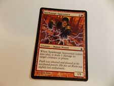 MTG magic the gathering   SPARKMAGE APPRENTICE   ( LOT  A )