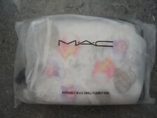 "BN "" M.A.C - FAFI COLLECTION '"" CLEAR RECTANGLE COSMETIC MAKE UP BAG / CASE !"