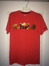 NIKE Men's Dri-Fit LeBron James T-Shirt SZ S / Orange