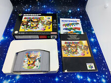 Mario Party 2 (Nintendo 64, 2000) N64 Boxed Complete.