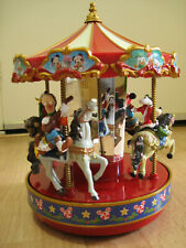 Disney Mr. Christmas Animated Carousel 50 songs (Used)