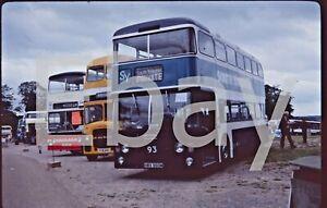 35mm bus slide South Yorkshire Transport Daimler Fleetline / NCME 93NWX993M