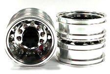 ALL TAMIYA Alloy T2 DUALLY Wheel 1/14 Tractor Truck C26594GUN 12MM HEX INTEGY