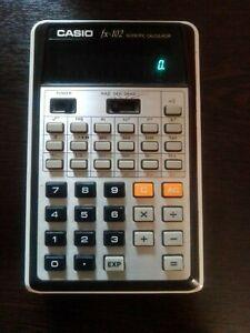 CASIO fx 102 vintage scientific calculator