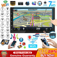 10.1'' Bluetooth Car Stereo Head Unit GPS Navigation Radio Player Touch Screen