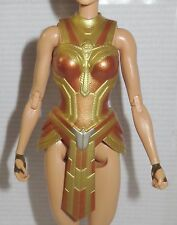 CORSET ~ ARMOR ~ BARBIE DOLL WONDER WOMAN HIPPOLYTA BATTLE UNIFORM TOP CLOTHING