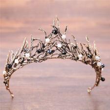 Wedding Rhinestone Tiara Hair Band Bridal Princess Prom Crown Headband*accrdbd Silver