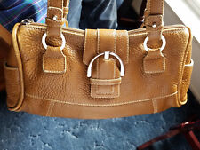 NUOVEDIVE ~~ GENUINE LEATHER HANDBAG with SHOULDER STRAPS~~FREE SHIPPING!!