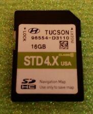 96554 D3110 2015 2016 2017 Hyundai Tucson SD Navigation Map Card 96554-D3110 OEM