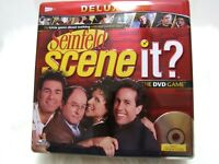 Scene It Seinfeld TV Trivia DVD Board Game Deluxe in Tin Complete played once