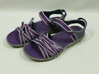 Teva Women's Tirra Sport Sandals Hiking Water Shoes US Size 5 Grey Purple