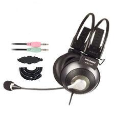 Auriculares Cascos Gaming Juego Micrófono On-Ear PARA Ordenador Portátil CJC-861