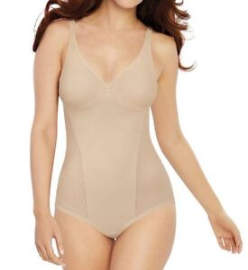 Bali SOFT TAUPE Passion for Comfort Minimizer Body Shaper , US 36C