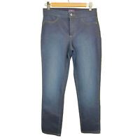 NYDJ Straight leg Size 6 Not Your Daughters Women's Blue