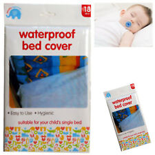 Beautiful Beginnings Child's Single Waterproof Bed Cover Cot Mattress Protector