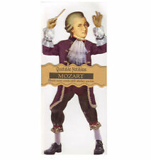 MOZART Quotable notable-Greeting Card with sticker Quotes