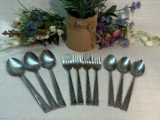 Stanley Roberts MADRILLA, Lot of 10, Spoons, Forks. Ex Used Cond! Beautiful!