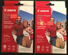 2 Packs - Cannon 4x6 Glossy Photo Paper (72 lb wt). 100 Sheets Total - Inkjet