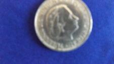 Münze  2 1/2 Gulden Juliana Königin von Niederlande 1960 Silber