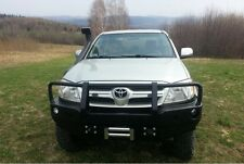 TOYOTA HILUX 2005-2011 FRONT STEEL BUMPER WINCH OFF -ROAD