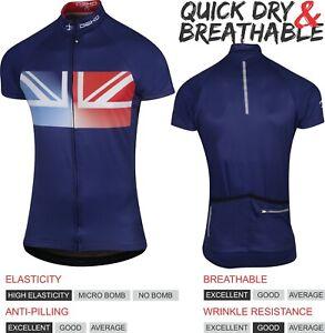 DEKO Men Cycling Jersey Bicycle Sportswear Top Cycling Clothing Short sleeves UK