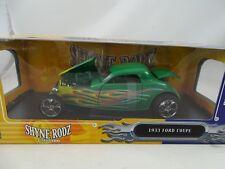 1:18 Shyne Rodz #30109 - 1933 Ford Coupé Vert Rare - Neuf / Emballage D'Origine