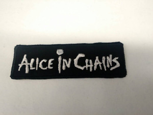 Alice in Chains Patch Iron/Sew-on Embroidered 90s Metal Hard Rock Tool Pantera