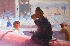 Armenian Art Gallery,Soviet Workers,Socialist Impressionist Painting,Armenia 50s