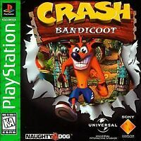 Crash Bandicoot - PS1 PS2 Disc only Playstation Game