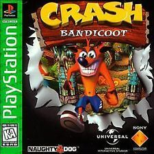 CRASH BANDICOOT PS1 PLAYSTATION 1 DISC ONLY