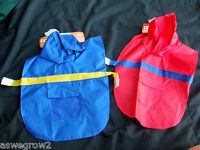 Pet Paws & Claws hooded Nylon rain coat  color  size your choice New  Dog or Cat