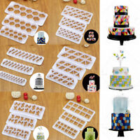 Cookies Cutter Fondant Cake Decor Biscuits Baking Mold Sugarcraft Icing Mould