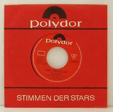 """7"""" Virginia Vee Don 't start to Cry/i' ll never leave without you POLYDOR FLC 70"""