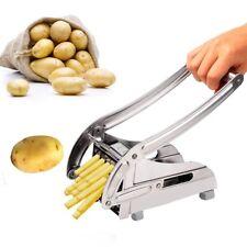 Potato Chipper Slicer Chip Cutter Chopper Maker French Fries Stainless Steel