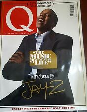 Q MAGAZINE NOVEMBER 2011 - JAY-Z - 25TH ANNIVERSARY SUBSCRIBERS EDITION