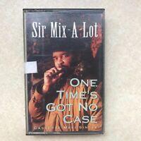 Sir Mix-A-Lot - One Time's Got No Case Cassette Tape Maxi-Single 1991 Rap