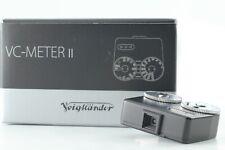 [ TOP MINT IN BOX ] Voigtlander VC Meter II Light Meter black From JAPAN
