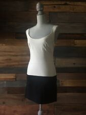 Urban Outfitters Silence Noise Dress Small S Bodycon Beige Black Colorblock M83