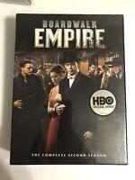 Boardwalk Empire: The Complete Second Season (DVD, 2012, 5-Disc Set) Brand New