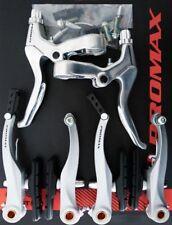V-Brake Bremsen Set für Vorder und Hinterrad komplett silber