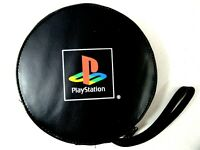 Official Sony Playstation PS1 20 Disc Travel Game Case With Wrist Strap