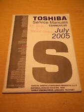 Toshiba Service Manual for PJTV 44NHM84 w/ CD 32A35C *FREE SHIPPING*