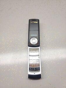 Samsung Juke SCH-U470 Verizon Blue Cellular Phone UNTESTED Flips and locks